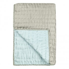 Designers Guild Chenevard Pebble & Duck Egg silkkipeitto