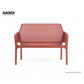 Nardi Outdoor Net Bench ulkosohva, corallo