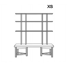 Välipala shelf size XS